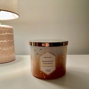 Mahogany Coconut Bath and Body Works Candle
